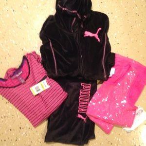9070b44e953cf Girls puma outfit NWT